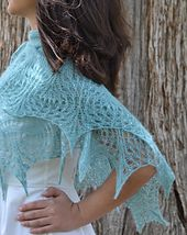 'Cumulus' Shawl by Susanna IC out now!