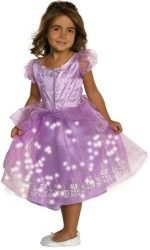 Child's Lavender Twinkle Princess Costume, Toddler