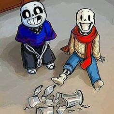Sans and Papyrus | Baby Bones