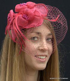 British Wedding Fascinator Hat