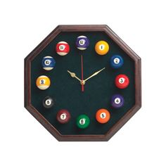 Cuestix Novelty Items Octagon Clock