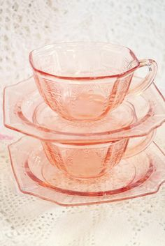coffee or tea, sugar or cream? ...as long as it's in a pink cup.
