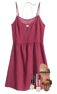 #summer #outfits / romper + gladiator sandals