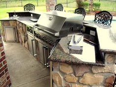 outdoor bbq island brick | for Brick, Masonry, Granite, & Stone. Any Size or style of BBQ Island ...
