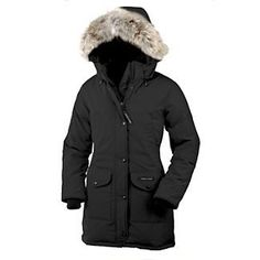 Canada Goose Womens Trillium Parka $595 I want this is charcoal grey!