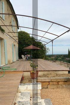 Pergola en Fer Forgé, Tonnelle - Fer Forgé, Ferronnerie d'art, Forgeron - Sur Mesure Métallique Dordogne 24 / Lot et Garonne 47