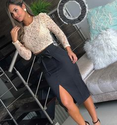 Discover recipes, home ideas, style inspiration and other ideas to try. Big Girl Fashion, Curvy Fashion, Trendy Fashion, Plus Size Fashion, Curvy Outfits, Classy Outfits, Plus Size Outfits, Casual Outfits, Night Outfits
