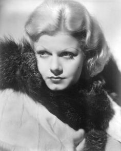 """I like to wake up each morning feeling a new man."" - Jean Harlow"