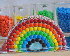 Half Birthday Cakes, Mary Birthday, Disney Princess Birthday Party, Birthday Party Snacks, Homemade Birthday Cakes, Birthday Cupcakes, Birthday Celebration, 5th Birthday, Rainbow Candy