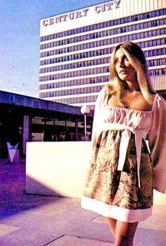 LOS ANGELES / CENTURY CITY:  Sharon Tate, Century City, 1960s.