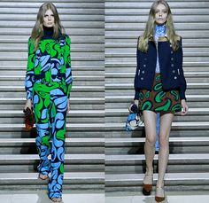Miu Miu 2015 Resort Womens Lookbook Presentation - 2015 Cruise Pre Spring Fashion Pre Collection - Retro Groovy 1960s Sixties 1970s Seventies Crystals Embellishments Bejeweled Paisley Crochet Vest Military Outerwear Coat Jacket Pantsuit Scarf Silk Swirl Psychedelic Prints Shift Dress Gladiator Sandals Sleeveless Blouse Sheer Chiffon Coatdress Blousedress Shirtdress Tankdress Mix Match Wide Leg Trousers Flare Palazzo Pants Pouch Turtleneck Miniskirt White - Palais d'Iéna in Paris, France