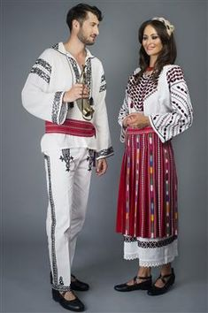 Costum popular femei dogrogean Romania, Anastasia, Costumes, History, Beautiful, Nature, Style, Fashion, Folklore