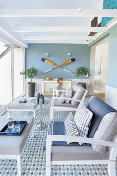 Superb nautical home decorating tips that can work with an. Superb nautical home decorating tips that can work with any person - Coastal Decor, Beach House Decor, Cheap Home Decor, Nautical Home Decorating, Home Decor, House Interior, Coastal Living Rooms, Apartment Decor, Nautical Home