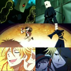 Mikuni and Jeje(Envy pair). They are really an odd duo ^.^ Anime-Servamp
