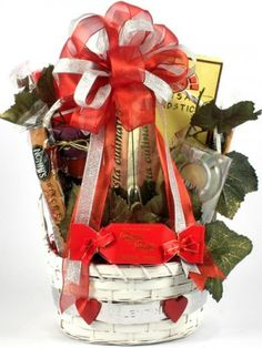 The romantic dinner gift basket will make a special treat for any romantic occasion. It includes a decorative candle, Sun Dried Tomato Artisan Pasta, Sun Dried Tomato Pasta Sauce with Cabernet Sauvignon Wine flavor, deliciously crispy Artisan Breadsticks. Valentine Gift Baskets, Valentine's Day Gift Baskets, Holiday Gift Baskets, Valentine Day Gifts, Holiday Gifts, Valentines, Gift Hampers, Christmas Gifts, Theme Baskets