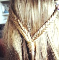 how to do THE DOUBLE FISHTAIL BRAID