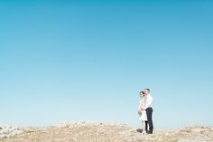 photo of a couple on their wedding in the fortress