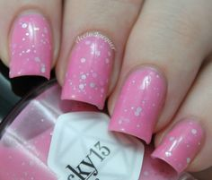 Lucky 13 Lacquer: Pink Sugar Heart