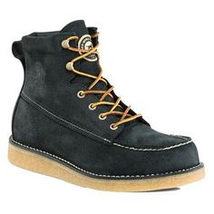 Irish Setter Bar Boot WP, bizarrely, these are available in one place only locally, and Im not telling you where, they have a heavy gum sole instead of a lightweight non gripping wedge and are extremely sturdy. Want want want. I have a lot of good boots, but this would be my first moc toe boot if I got em.