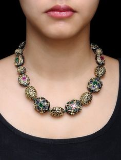 Ideas Jewerly Fashion Necklace Pendants For 2019 Fashion Jewelry Necklaces, Fashion Necklace, Beaded Jewelry, Beaded Necklace, Diamond Necklaces, Stone Necklace, Stone Jewelry, Gold Jewellery Design, Necklace Online