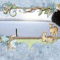 Winter, created with Winter Wonderland by Kristmess Designs