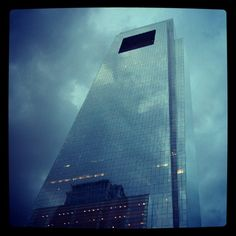 I was in Philadelphia for Scientific Sessions. This photo of the Comcast Building looks particularly devious thanks to the added filter. (via Instagram)
