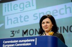 Justice chief Vera Jourova advised to smear activists.