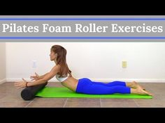 Learn from a physical therapist and certified Pilates instructor exactly what foam roller exercises you should be doing! In this Pilates Foam Roller Workout video, … source . Pilates Workout, Pilates Reformer Exercises, Pilates Video, Pilates Instructor, Pilates Ring, Pilates Mat, Core Exercises, Pilates Foam Roller, Foam Roller Exercises