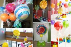 Transformer des ballons gonflables en bonbons géants pour une décoration de fête