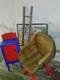 Mobile-bar-comodino-vintage-e-poltrona-botte-barrel-restyling-vintage-barile-ECO