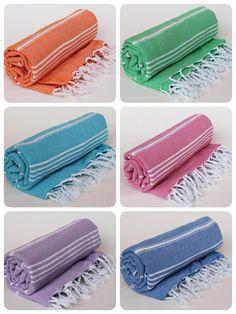Turkish Peshtemal Towel Fouta Towel Beach Towel Bath by BurlapUSA $7.45