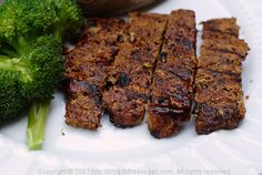 Barbecued Seitan Ribz - bring a real vegan meat to your BBQ this summer. Smoky, protein-y, and yum.