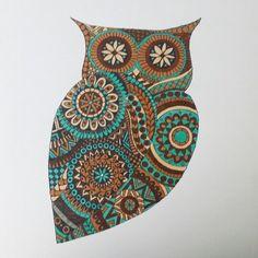 Owl by zenzooart.com