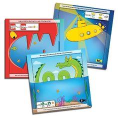 Blue Orange Doodle Quest The Deep Sea Adventure Game