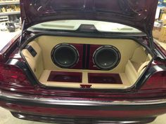 Can you remember what you were doing this week, in 2013? Our team at Stereo-In-Dash North Dixie was busy completing this beautiful custom trunk! We equipped this BMW with a trunk load of JL Audio subwoofers and amps, all flush mounted and color-matched. Because there's no reason not to sound great and look good too! If you would like to add great sound and creative customization to your vehicle, then visit any of our four locations (California Custom Sounds Beavercreek, California Custom…