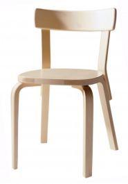 Artek chair,  Design: Alvar Aalto