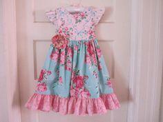 SALE...Buy 2 Get 1 Free...Instant Download PDF Sewing Pattern Tutorial Antique Fair Girls Vintage Style Flutter Sleeve Dress, 6-12 m to 12. $7.50, via Etsy.