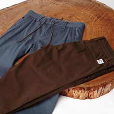 With just the right amount of spandex our Scout Pant stretches with you and not against you. Available in stores and on our online store. https://www.hippytree.com/shop/pants/scout-pant/chocolate/ #surfandstone