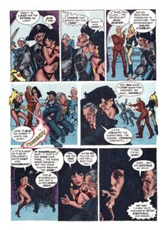 "Vampirella #55. October 1976. Warren Publishing. ""The Corpse with the Missing Mind."" Script: Bill DuBay. Art: Jose Pepe Gonzalez."