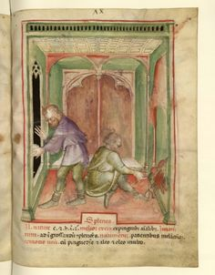 Nouvelle acquisition latine 1673, fol. 74, Aliment: rate. Tacuinum sanitatis, Milano or Pavie (Italy), 1390-1400. Medieval Books, Medieval Life, Isabella Of Castile, Medical Careers, Book Of Hours, Bnf, Baghdad, British Library, Illuminated Manuscript