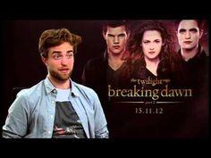 Robert Pattinson's Sydney Breaking Dawn Part 2 Promo Tour Interview