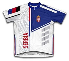 Serbia ScudoPro Short Sleeve Cycling Jersey for Men Size XL   Read more  reviews of the a4edbb12f