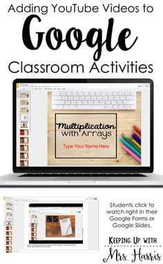 Inserting YouTube with Google Classroom - Learn how to insert YouTube videos…