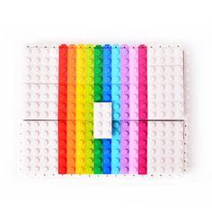 1380 Lego brique 2x4 Beige 5 pièces