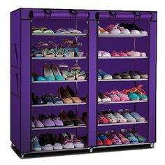 Buy Shoppy Shoe Rack with Oxford Cover (Purple) online at Lazada Singapore. Discount prices and promotional sale on all Foldable Shoe Storage. Free Shipping.