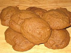 soft molasses cookies (like grandma's!). It's not gingerbread. It's a melt in your mouth, heart filled with love, molasses cookie.