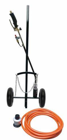 Zapp gasbrænder m. trolley | Billigst i jem & fix