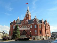 Historic City Hall, Stratford, Ontario, Canada     The Historic City Hall is another photogenic landmark of beautiful Stratford, Ontario, Canada.