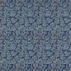 Bramble Wallpaper - Indigo - William Morris & Co Archive III Wallpapers Collection William Morris Wallpaper, Morris Wallpapers, William Morris Tapet, Print Wallpaper, Wallpaper Designs, Bedroom Wallpaper, Bramble, Wallpaper Online, Rugs