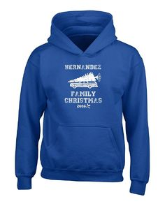 Hernandez Family Christmas 2016 Gift For The Holidays - Boys Hoodie Kids S Royal ** Check this awesome product by going to the link at the image.